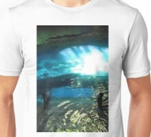 Walking Into The Cenote Unisex T-Shirt