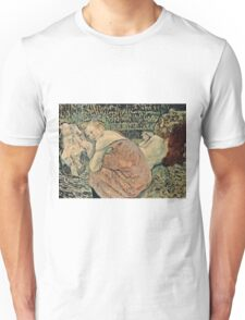 Henri de Toulouse Lautrec -  Two Friends (1895)  Unisex T-Shirt