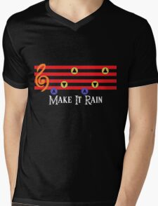 Make It Rain Mens V-Neck T-Shirt