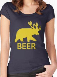 BEER - Life is Strange Women's Fitted Scoop T-Shirt
