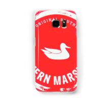Southern Marsh - Bright Red Samsung Galaxy Case/Skin
