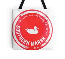 Southern Marsh - Bright Red Tote Bag