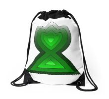 Flame Drawstring Bag