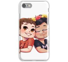 Wade and Mark iPhone Case/Skin
