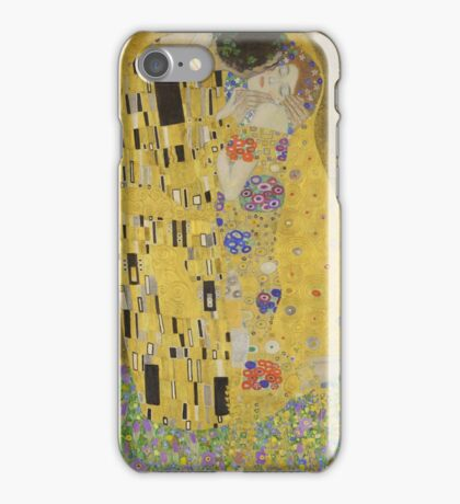 Gustav Klimt - The Kiss iPhone Case/Skin