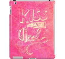 Kiss the geek iPad Case/Skin