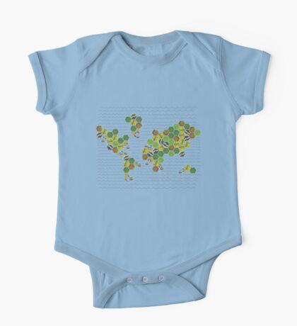 The Nations of Catan One Piece - Short Sleeve
