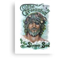 The Greenman of the Sheppey Sea Canvas Print