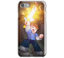 Fighting For Love - Minecraft Song iPhone Case/Skin