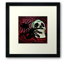 The Spider's Skull Framed Print