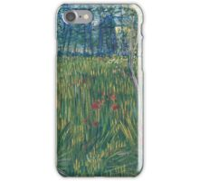 Vincent Van Gogh - Woman In  Garden, 1887 iPhone Case/Skin
