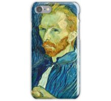 Vincent Van Gogh - Self Portrait, 1889  iPhone Case/Skin