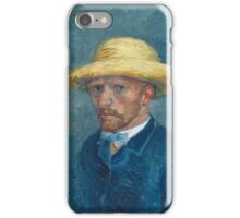 Vincent Van Gogh - Portrait Of O Van Gogh, 1887 iPhone Case/Skin