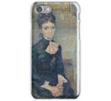 Vincent Van Gogh - Portrait Of Leonie Rose Charbuy-Davy, 1887 iPhone Case/Skin