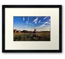 Cley windmill cley next the sea Framed Print