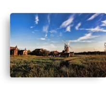 Cley windmill cley next the sea Canvas Print