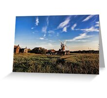 Cley windmill cley next the sea Greeting Card