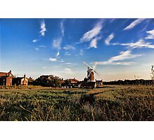 Cley windmill cley next the sea Photographic Print