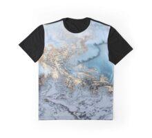 Marble Swirl  Graphic T-Shirt