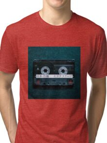 Japanese Mixtape Tri-blend T-Shirt