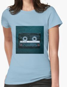 Japanese Mixtape Womens Fitted T-Shirt