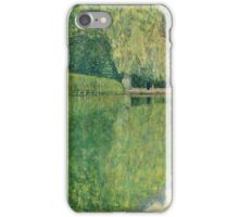 Gustav Klimt - Park Of Schonbrunn iPhone Case/Skin