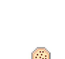 8-bit Pizza Phone case by Legitbit