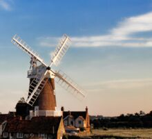 Cley windmill cley next the sea Sticker