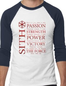 Sith Code Men's Baseball ¾ T-Shirt