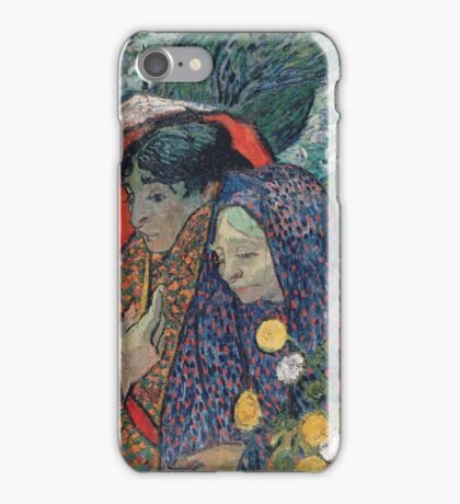 Vincent Van Gogh - Memory Of  Garden At Etten (Ladies Of Arles), 1888 iPhone Case/Skin