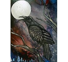 Full Crow Moon Photographic Print