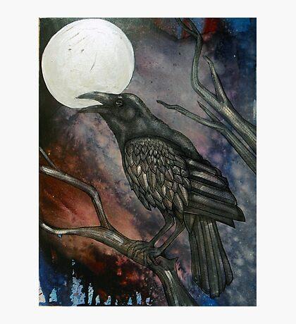 Full Crow Moon Photographic Print