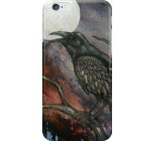 Full Crow Moon iPhone Case/Skin