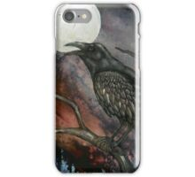 Full Crow Moon iPhone Case/Skin