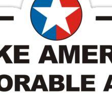 Make America Deplorable Again Sticker