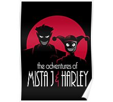 The Adventures of Mista J and Harley Poster