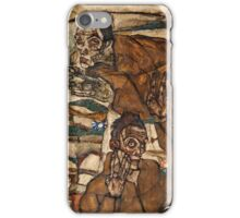 Egon Schiele - Levitation (The Blind II) (1915)  iPhone Case/Skin