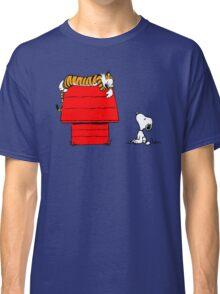 SNOOPY VS HOBBES Classic T-Shirt