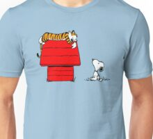 SNOOPY VS HOBBES Unisex T-Shirt