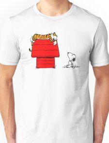 SNOOPY VS HOBBES Unisex T-Shirt