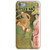 Henri de Toulouse Lautrec -  The Dance (1890)  iPhone Case/Skin