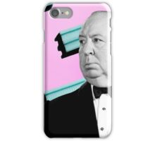 Alfred Hitchcock pop art pattern iPhone Case/Skin
