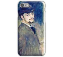 Renoir Auguste - Self Portrait (1876)  iPhone Case/Skin