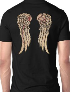 Daryl Dixon, The walking dead inspired biker wings. Unisex T-Shirt