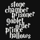 Stone Chamber Prisoner Goblet Order Prince Hallows #White Version by abcmaria