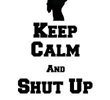Keep Calm, and Shut Up Shinji! by Ravioli-Heichou