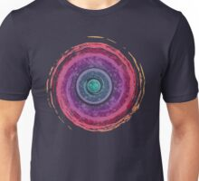 Rainbow Watercolor Spiral Unisex T-Shirt