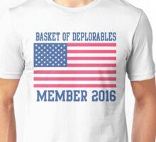 Patriotic Basket of Deplorables Member 2016 Unisex T-Shirt