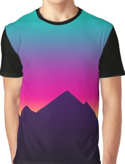 Retro Sunset Graphic T-Shirt
