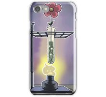 Bunsen Burner Flower Pot iPhone Case/Skin